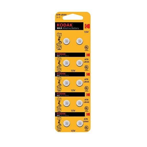 Kodak 10 Adet Ultra Alkalin Düğme Pil-Ka76/Lr44. ürün görseli
