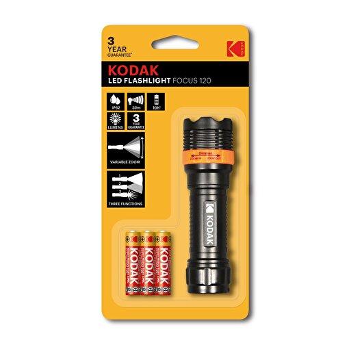 Kodak Focus 120 Su Geçirmez Led El Feneri - 3 Adet Pil Hediyeli. ürün görseli
