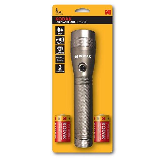 Kodak Led Flashlight Ultra 165 - 2 Büyük Pilli El Feneri. ürün görseli