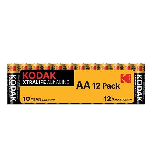 Kodak 12 Adet Shrink Xtralife Alkalin Kalem Pil-Aa. ürün görseli