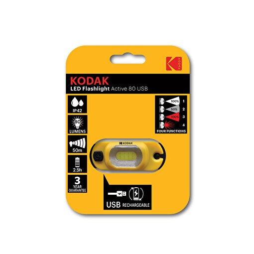 Kodak Led Lamp 80 Şarjlı Dokunmatik Kafa Lambası . ürün görseli