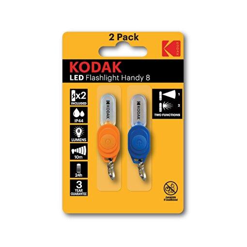 Kodak LED Flashlight Handy 8 Anahtar Feneri 2'li Paket . ürün görseli