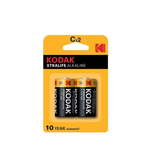 Kodak 2 Adet Xtralife Alkalin Orta Pil-C. ürün görseli
