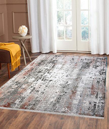 Koza Pera Pudra Akrilik Halı 45656A,80 x 150. ürün görseli