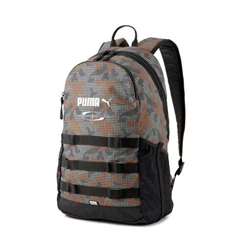 Puma Style Backpack Dark Shadow-Camo Aop Sırt çantası. ürün görseli