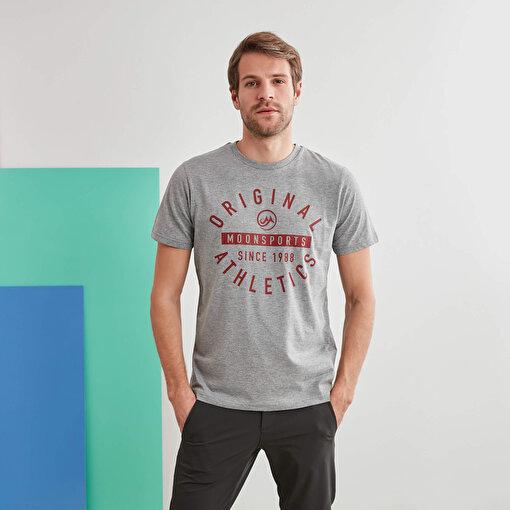 Moonsports Nathan T-Shirt Gri S. ürün görseli