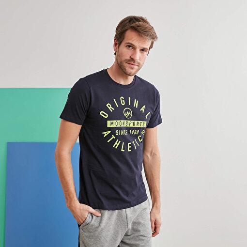 Moonsports Nathan T-Shirt Lacivert L. ürün görseli