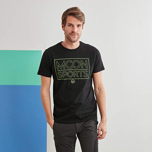 Moonsports Eric T-Shirt Black S. ürün görseli