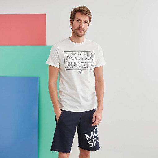 Moonsports Eric T-Shirt Whıte S. ürün görseli