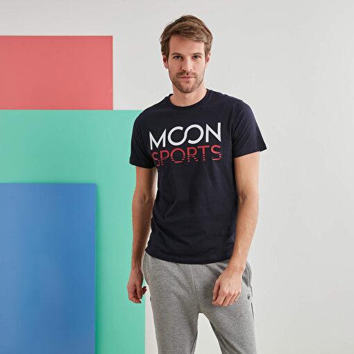 Moonsports Joe   T-Shirt Lacivert L. ürün görseli