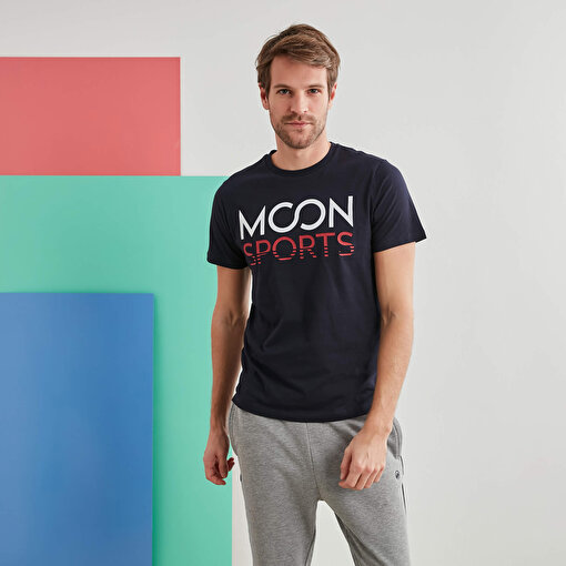 Moonsports Joe   T-Shirt Lacivert S. ürün görseli