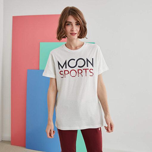 Moonsports Joe   T-Shirt Whıte M. ürün görseli