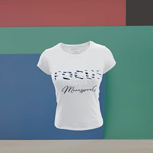 Moonsports Daisy  T Shirt Whıte Xl. ürün görseli