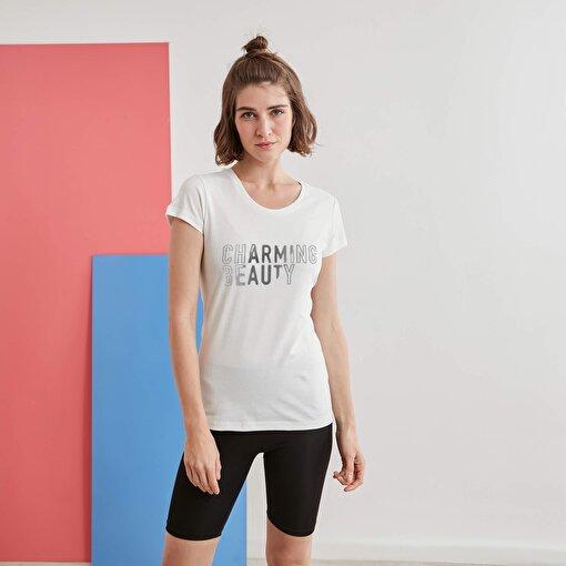 Moonsports Betty  T Shirt Whıte M. ürün görseli
