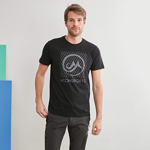 Moonsports Eden T Shirt Black S. ürün görseli