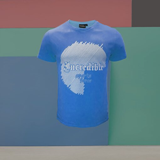 Moonsports Celtic  T Shirt Mavi S. ürün görseli