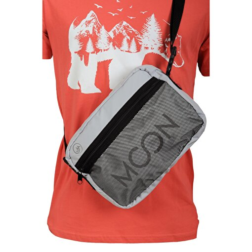 Moonsports Frank Postacı Çantası Gri  Çanta. ürün görseli