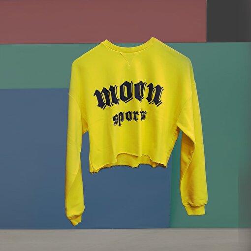 Moonsports Angel W Sweat Açık Sarı Laci XS. ürün görseli