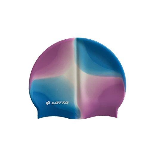 Lotto Swımcap Raınbow Jr 6Pcs Blue/Whıte/Pınk Nosz Bone. ürün görseli