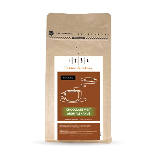 Coffee Academy Çikolata Nane Aromalı Filtre Kahve 250Gr. ürün görseli