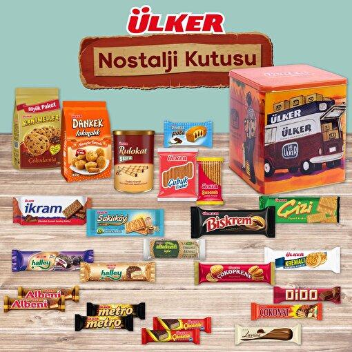 Ülker Nostaljik Kutu Hediyeli Atıştırmalık Paketi. ürün görseli
