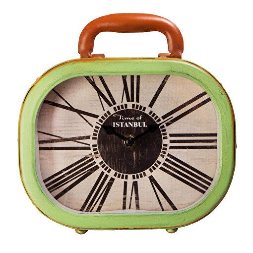 Xoom Bavul Masa Saati Yeşil. ürün görseli