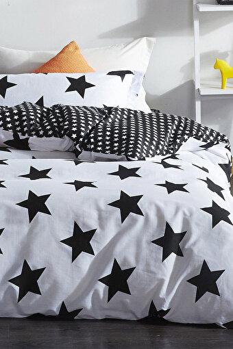 Eponj Home Kolay Ütülenir Nevresim Takımı Çift Kişilik B&W BigStar. ürün görseli