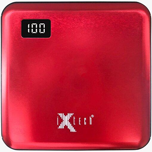 iXtech IX-PB010 10.000 mAh Taşınabilir Şarj Cihazı Kırmızı . ürün görseli