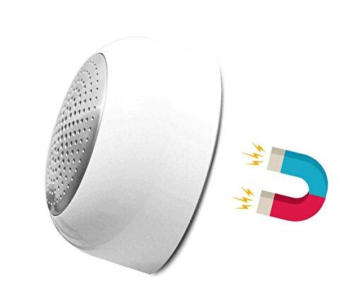 iXtech IX-B10 Manyetik Beyaz Bluetooth Hoparlör. ürün görseli