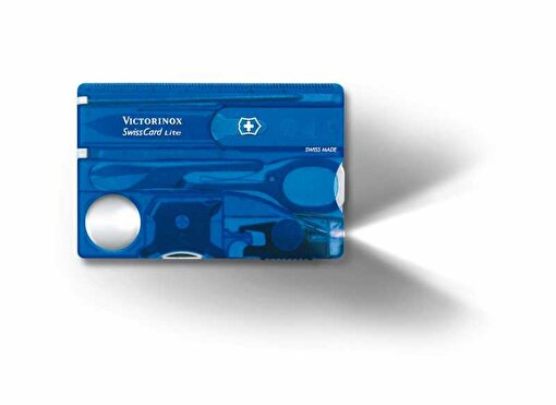 Victorinox 0.7322.T2 SwissCard Lite  Sapphire. ürün görseli