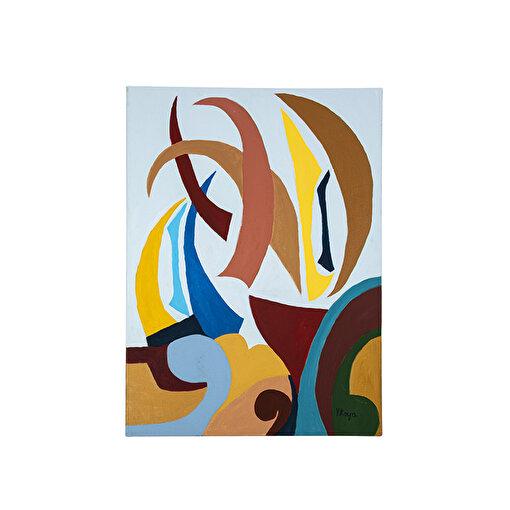 Yaz 50x70 Kanvas Tablo. ürün görseli