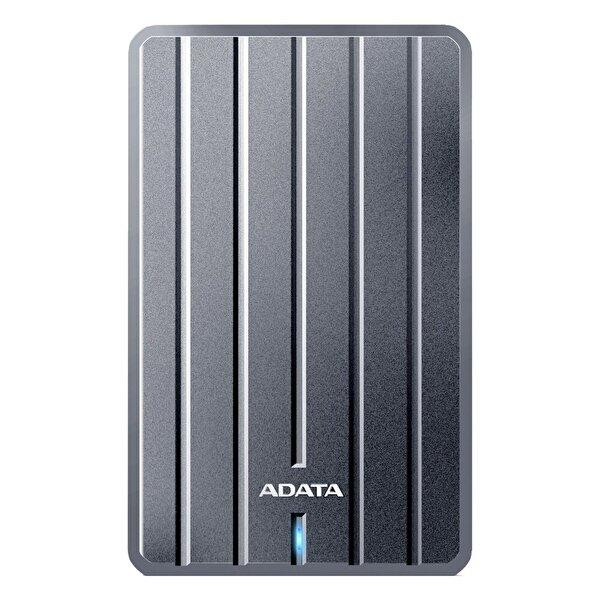 """Adata 1 TB 2,5"""" HC660 Ultra Slim Metal USB 3.1 Taşınabilir Disk Titanyum. ürün görseli"""