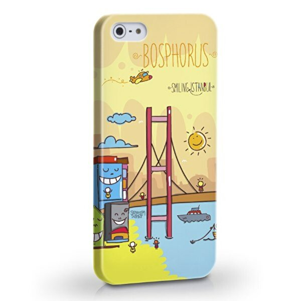 Biggdesign Boğaz iPhone 5/5S Kapak. ürün görseli