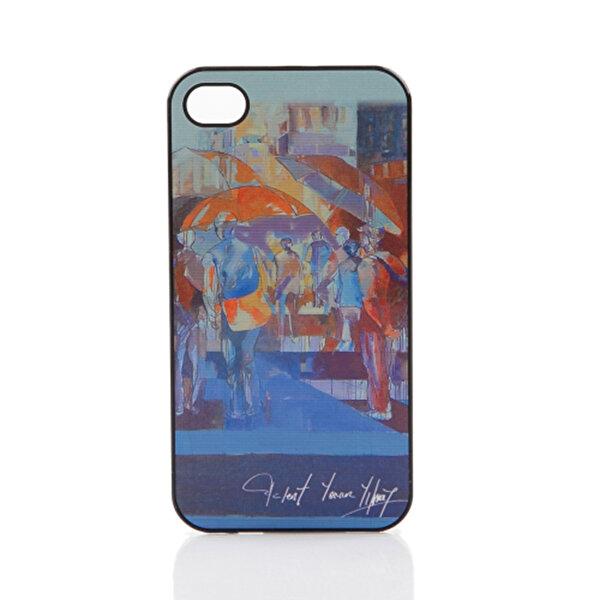 BiggDesign iPhone 4/4S Beyaz Kapak Şemsiyeler. ürün görseli