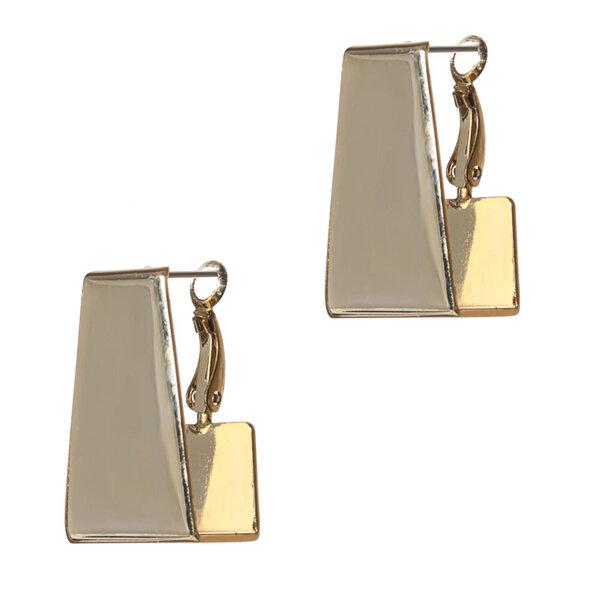 Biggbijoux Lepha Küp Küpe-Altın Renkli. ürün görseli