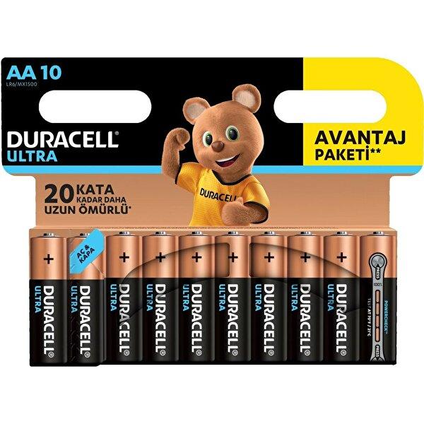 Duracell Ultra Kalem Pil 10'lu AA. ürün görseli