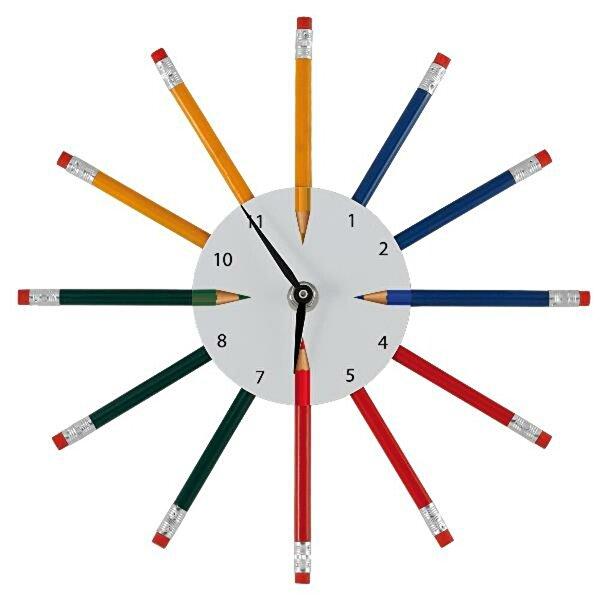 Equinoxe Duvar Saati Kalemli. ürün görseli