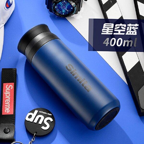 Feijian ST-040-30A 400 ml Lacivert Çelik Termos. ürün görseli