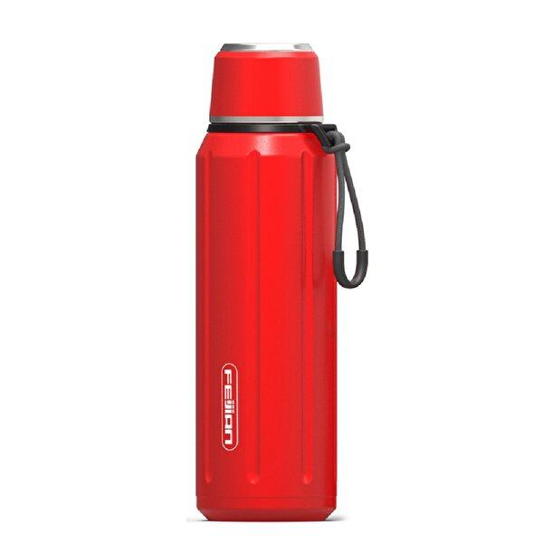 Feijian FS-060-01A-1 600 ml Kırmızı Çelik Termos. ürün görseli