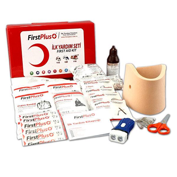 Firstplus FP01.104 ilk yardım seti (plastik kutulu). ürün görseli
