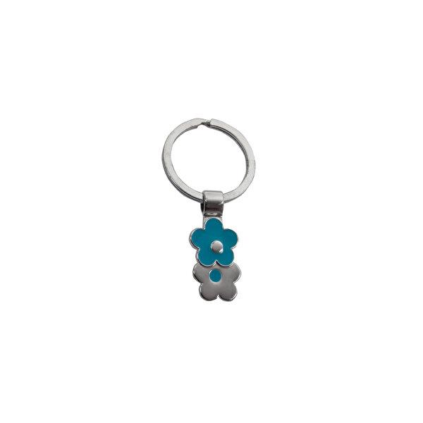 Nektar J03-115 İki Çiçekli Metal Anahtarlık. ürün görseli