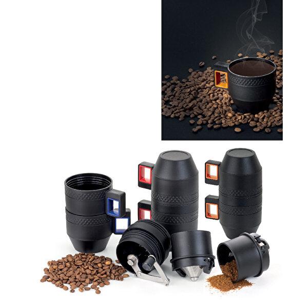Nektar Taşınabilir Öğütücülü Manuel Kahve Makinası. ürün görseli