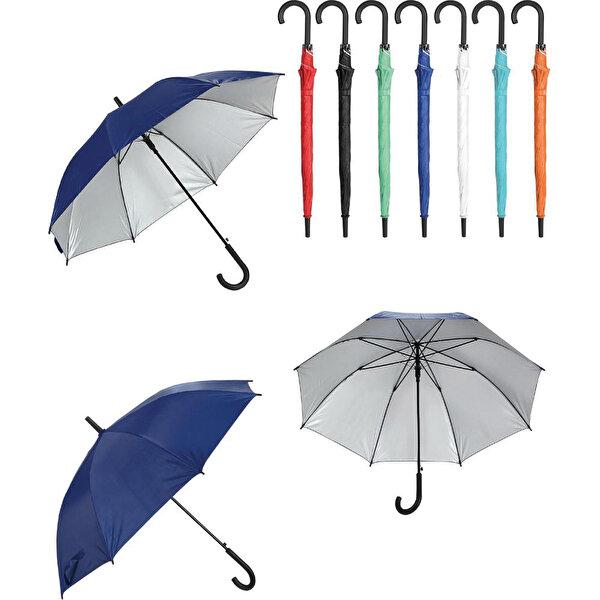 Nektar Plastik Saplı Fiber Glass Kırılmaz Şemsiye. ürün görseli