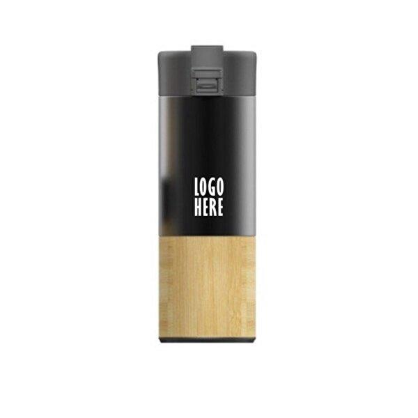 PromoNet Bambu Termos Mug 450 Ml. ürün görseli