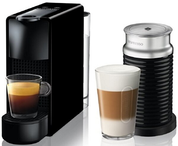 Nespresso Essenza Mini C35 Black Bundle Kahve Makinesi. ürün görseli