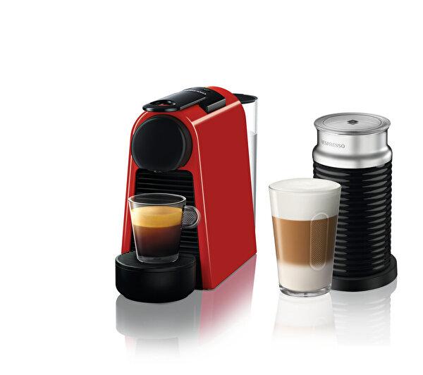 Nespresso Essenza Mini D35 Red Bundle Kahve Makinesi. ürün görseli