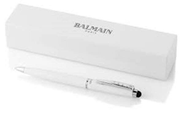 Balmain 10640800 Maud Stylus Beyaz Tükenmez Kalem. ürün görseli