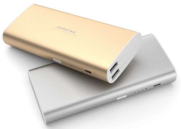 Pineng PN-998 10000mAh Powerbank Gold. ürün görseli