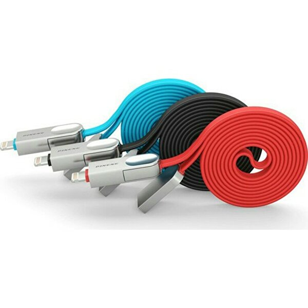 Pineng PN-307 Lightning ve Micro USB Siyah Kablo. ürün görseli