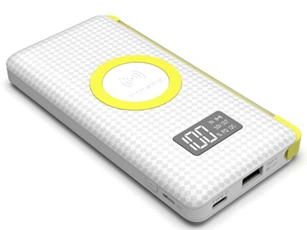 Pineng PN-888 10000 mAh Wireless PD 3.0 Yüksek Hızlı Dijital LED Göstergeli Powerbank - Beyaz. ürün görseli